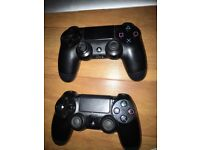 PS4 Controller x2