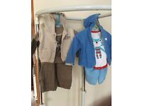 Baby boy infant trousers, tops, body & jackets 3-6m, Mothercare etc