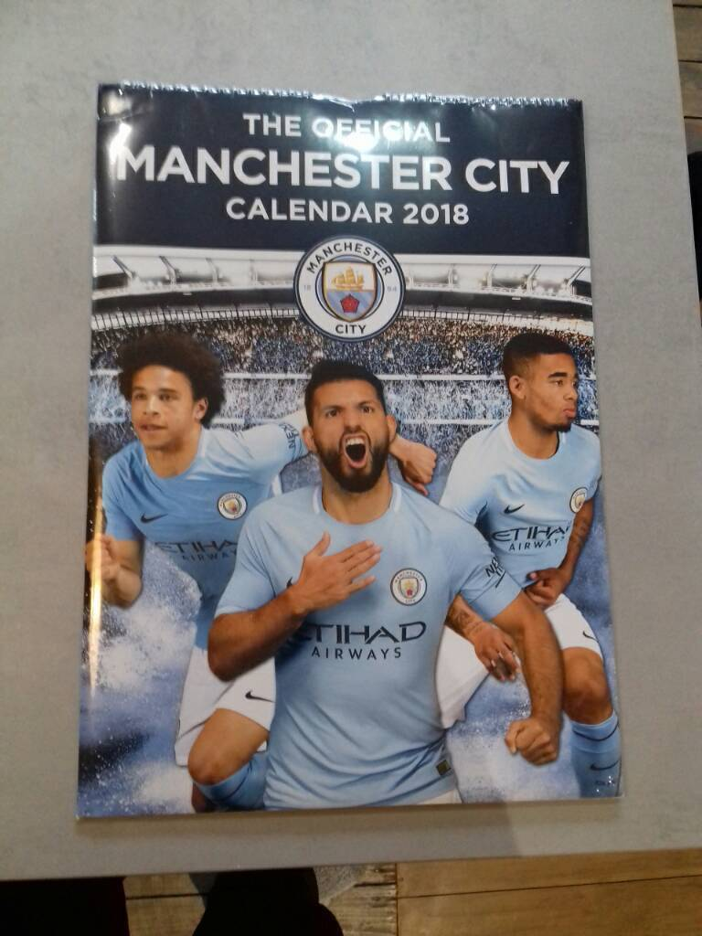 Manchester City 2018 calender