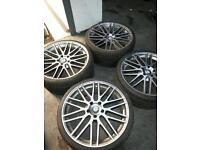 "BMW 20"" TSW Croft alloy wheels"