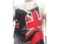 Vespa Men's Union Jack T Shirt Medium