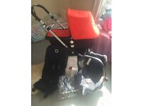 Bugaboo Cameleon 3 complete travel system, excellent condition with extras and maxi-cosi car seat