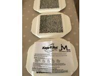 Keep Hot Food Stabd Trays