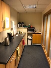 Office space with storage to rent