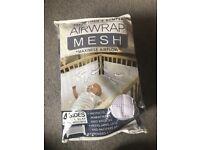Airwrap mesh bumpers