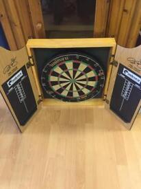 Paul Taylor dart board