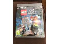 LEGO JURASSIC WORLD PS3 game . Great condition