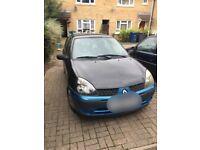 Renault Clio 1.2 16v spares or repairs