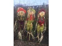 Full Height 5 foot Scarecrows