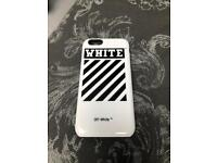 iPhone 6 phone case, very tough. Off-White style, from RedBubble