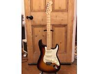 Fender American Deluxe Stratocaster Guitar - Tobacco Sunburst - 2006 - Fantastic Condition!