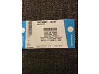 IOW Isle of Wight festival ticket