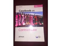 Casebook on Contract Law 12th Edition by Jill Poole