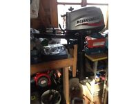 Mariner 4 stroke 4 HP outboard engine