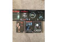 Horror/ Thriller DVD's The Grudge The Ring Creep From Hell