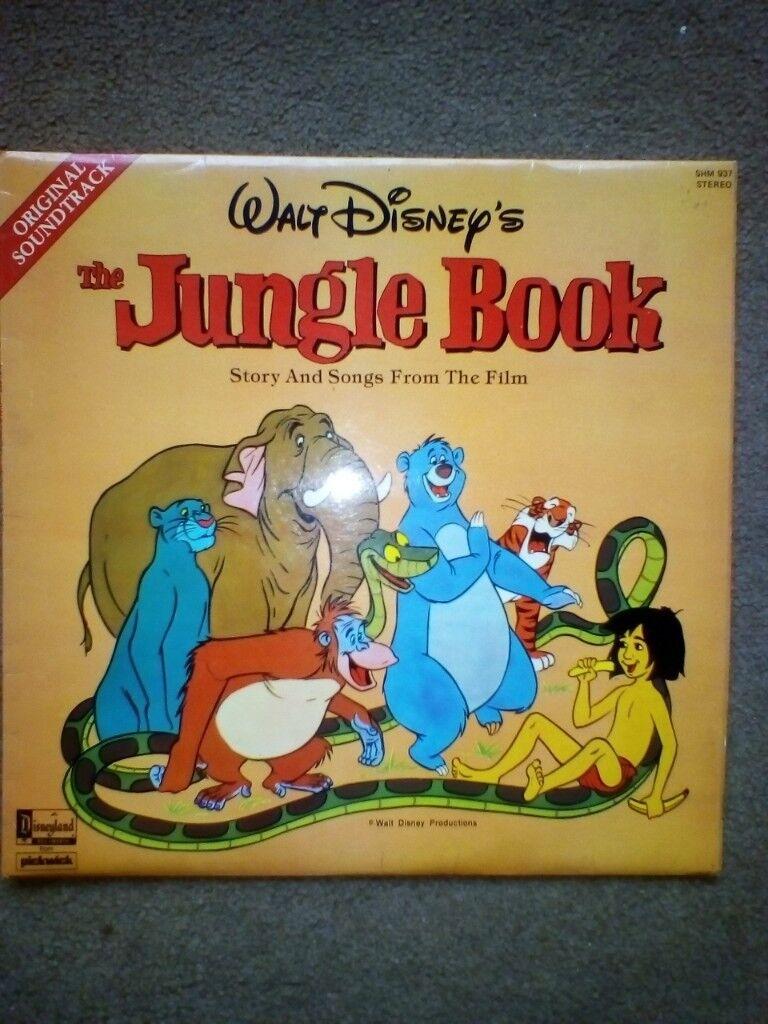 Disney S Jungle Book Vinyl Lp Record In Colchester Essex Gumtree