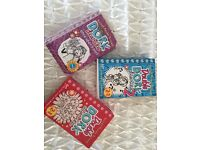 Selection of Dork Diaries books
