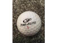 Top quality new and lightly used golf balls