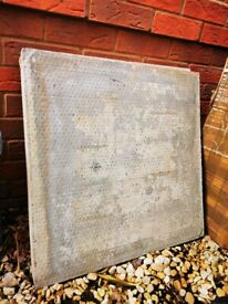 Free cement paving slabs