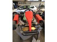 TKM 100cc go cart