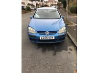 VW golf automatic 5 doors low mileage
