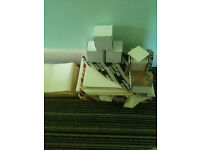 Paper x3 packs, labels and note paper x4 boxes