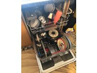 Bosch integrated dishwasher - less than yr old