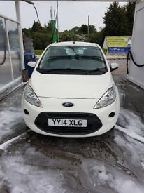 Ford KA 2014 plate low low mileage - excellent condition - only had two owners