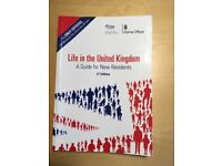 "U.K. Citizenship Test -the complete official study set of "" Life in the U.K.""; 6 books i"