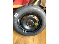 Unused Goodyear 175/65R14 tyre and steel wheel (spare from 2004 Ford Fiesta)
