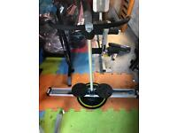 Circle glider cross trainer