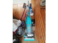 blue Dyson DC07 All Floors Upright Hoover new motor 1 months warranty just with the motor new Brushe