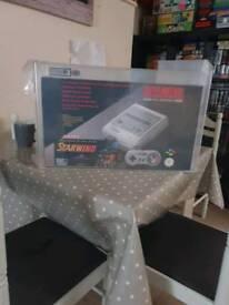 Graded brand new snes console super nintendo