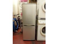 silver fridge freezer (56 inches tall and 20 inches wide)