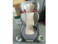 Graco Junior Booster car seat with detachable back