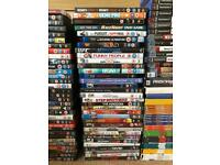 Dvds, bluerays and PlayStation games £2