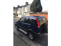 Low mileage Daihatsu.year's mot. Very reliable. Been garaged most of its life. Drives very well.