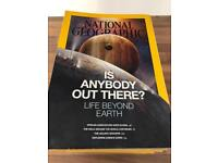 National Geographic Magazine 44 different editions