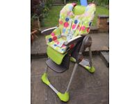 Adjustable high chair - Chicco Polly