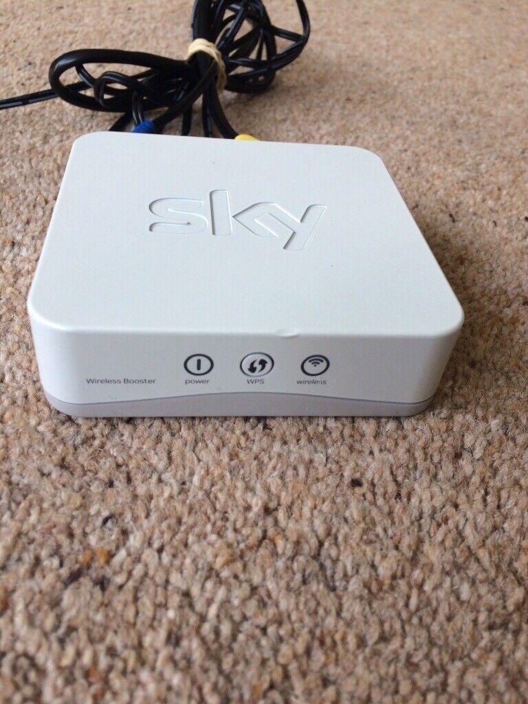 SKY Wifi Booster Extender SB601 white