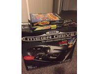 Sega Megadrive Boxed with 8 games