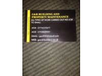 G&R building and property maintenance