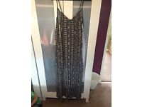 Size 12 maxi dress and jacket