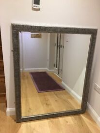 2 large mirrors