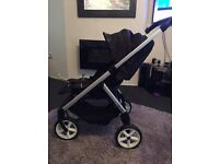 Mini easywalker pushchair, comes with design pack and raincover. Excellent condition