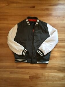 American eagle varisity bomber jacket