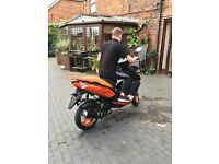 50cc scooter. Rarely used. Bargain