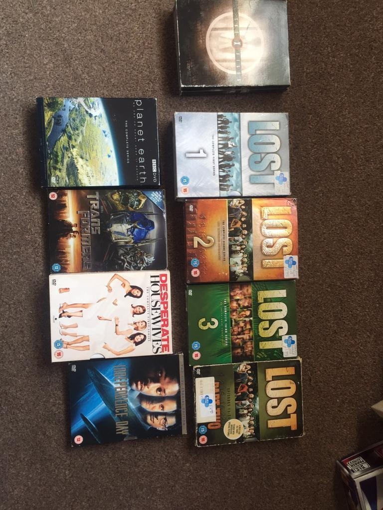 Movies and seriesin Wakefield, West YorkshireGumtree - Complete series 1,2,3,4 LOSTComplete series 1 ( desperate house wives)Complete series Planet earth Independence Day Transformers Complete series X files