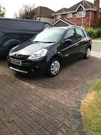 Renault Clio estate low mileage drives great some scuffs and scratches but nothing bad.