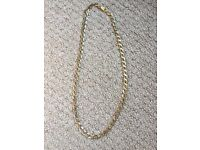 9ct Gold Curb Chain 22.75g